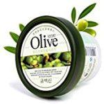 Olivenöl Gesichtsschlafmaske